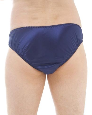 Satin Silk High Leg Brief - Men - Underwear - Briefs - The House ...