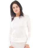 Silk Thermal Long Sleeve Vest